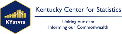 Kentucky Center for Statistics Logo and Link to the Home Page